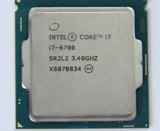 Processador I7 6700 + placa mãe Z270 Gaming M7. Aceito troca notebook, TV 4K, MONITOR.