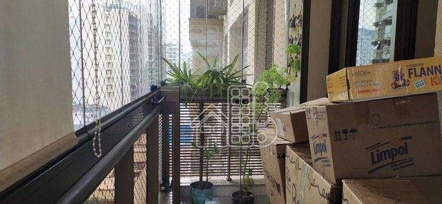 Apartamento com 3 dormitórios à venda, 98 m² por R$ 1.300.000,00 - Icaraí - Niterói/RJ - Foto 3
