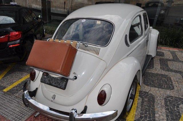 Volkswagen Fusca 79 1.300 Carro de colecionador, placa preta   Nunca foi restaurado. - Foto 4
