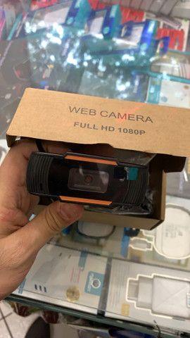 Webcam Mídi Full HD 1080P *NOVO* - Foto 2