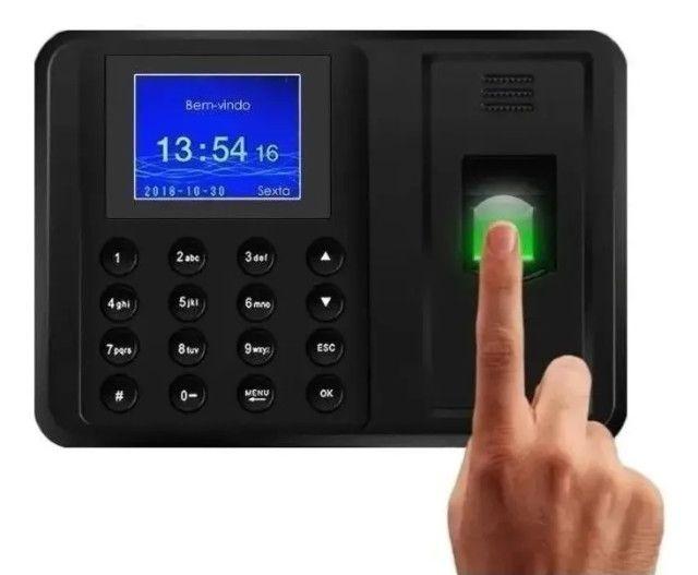Relógio De Ponto Com Leitor Biométrico Até 600 Pessoas Ultimas Unidades