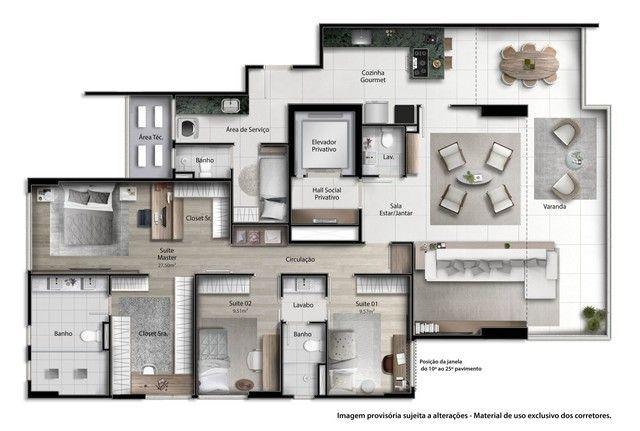 Vitória -  Apartamento Padrão  - ENSEADA DO SUA - Foto 8
