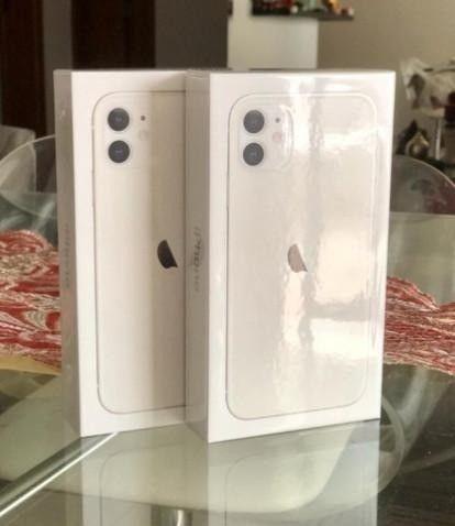 Apple iPhone 11 64GB Branco Lacrado na Caixa