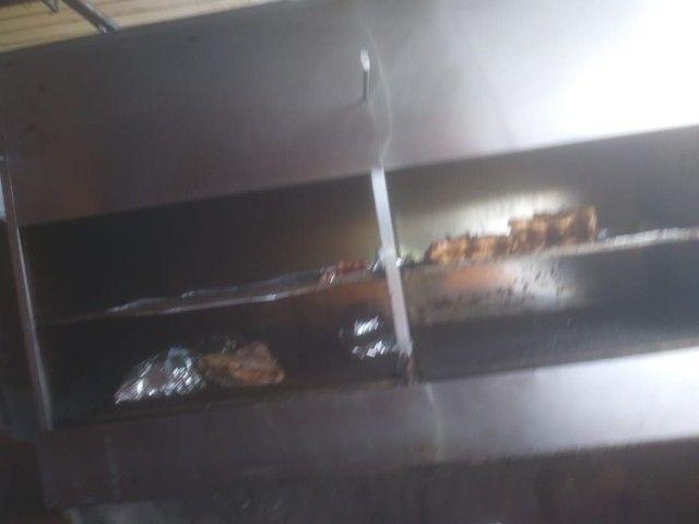 Vendo churrasqueira inox grande  - Foto 3