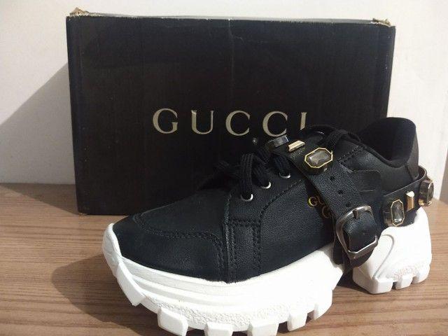 Tênis Gucci 2 em 1 - Foto 6