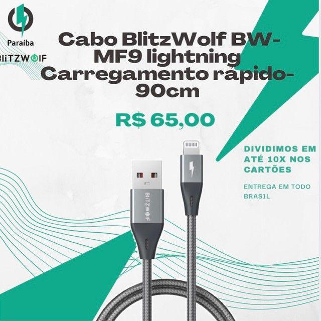 Cabo iphone Blitzwolf BW-MF9 - 90cm