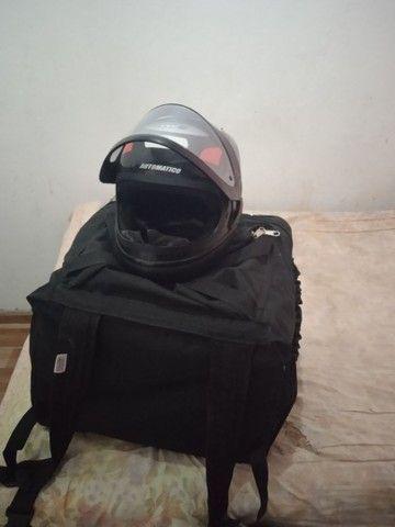 Capacete + bag