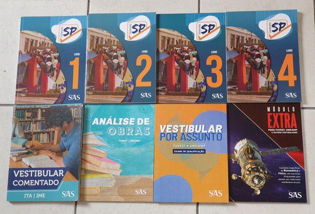 Livros SAS FUVEST e UNICAMP