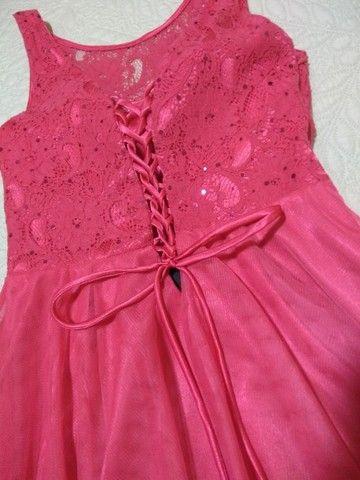 Vestido de festa rosa - Foto 4