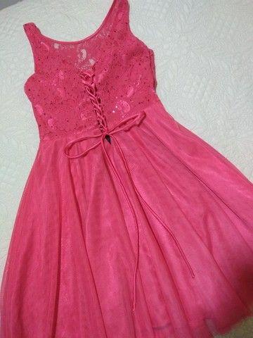 Vestido de festa rosa - Foto 3