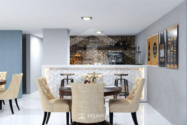 66 Apartamento 78m² com 03 quartos no Ininga, mobiliado, Não perca! (TR8822)MKT - Foto 2