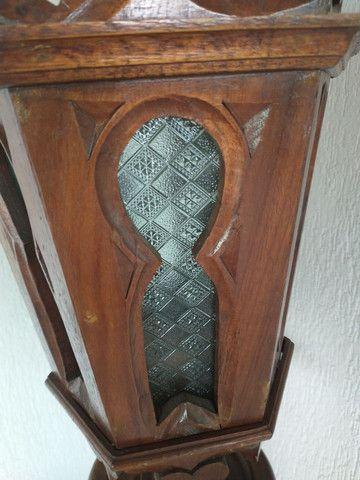 Poste em madeira maciça - Foto 3