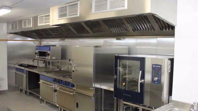 Commercial Stainless Steel Kitchen Set Ups