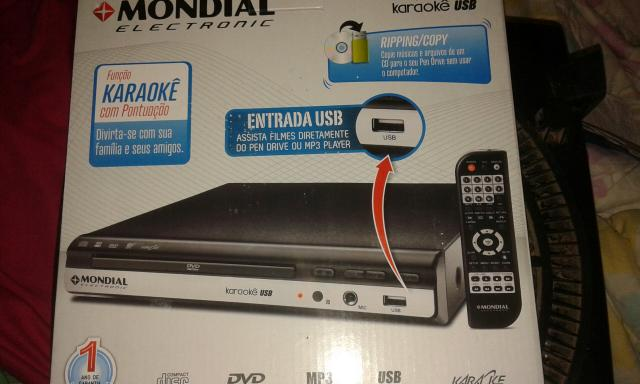 Vendo um dvd com entrada USB.e RIPPING/COPY