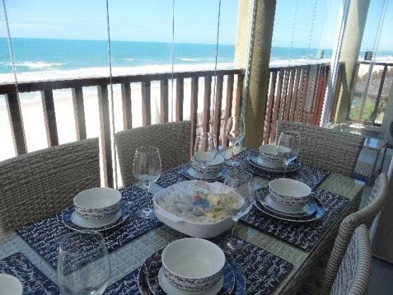 Apto Luxo Frente Mar Beach Park Acqua Resort