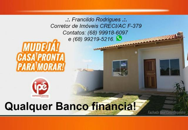Casa no Loteamento Bonsucesso pronta para financiar