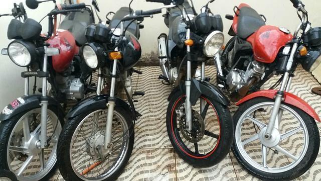 Honda 125 2012 sem direito a documentação
