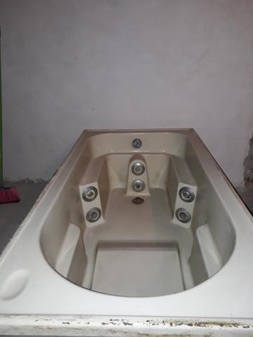 Banheira fibra de vidro