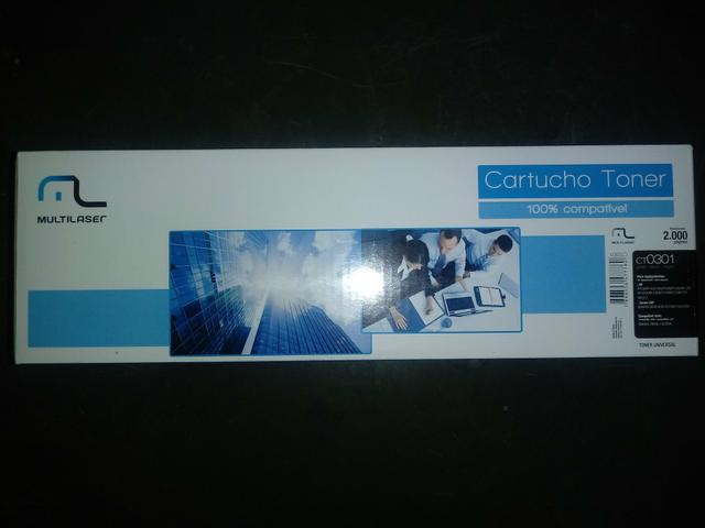 Cartucho Toner remanufaturado R$: 29,90