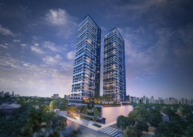 Res. Único Marista 135, Apartamento 150 m², 3 suítes, 2 vagas, Setor Marista, Goiânia - Go