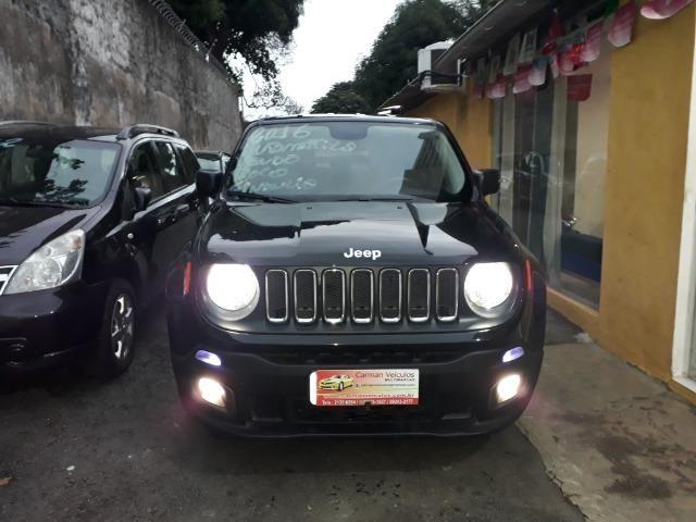 Jeep Renegade sport automatico ipva e transferencia gratis financiamos sem entrada 2016