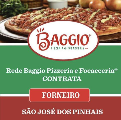 Forneiro - forno a lenha - pizzaria
