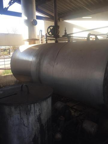 Caldeira a óleo 750 Kilos de vapor e uma Fornalha para lenha - Foto 5