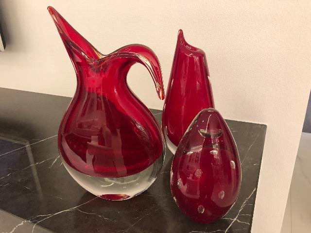 Vasos São Marcos (trio de vasos)