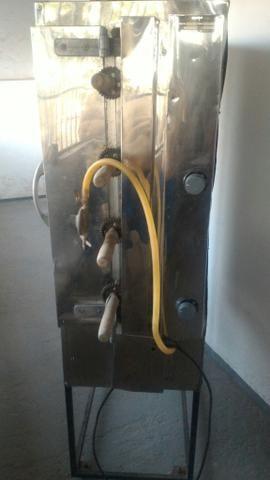 Frangueira a gás pra assar 20 frangos! - Foto 3