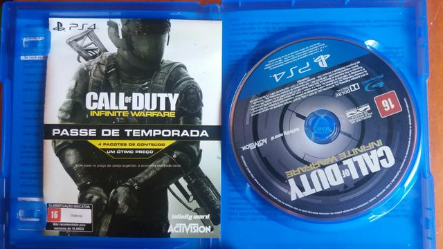 Vendo Jogo Call Of Duty Infinite Warfare