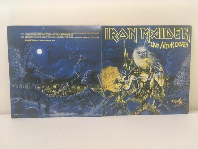 Vinil duplo do Iron Maiden - Foto 3