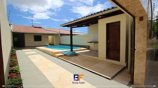 Casa a Venda em Paracuru Com Piscina e Duas Suites (Casa Com Poço Profundo e Cerca Elétr.)