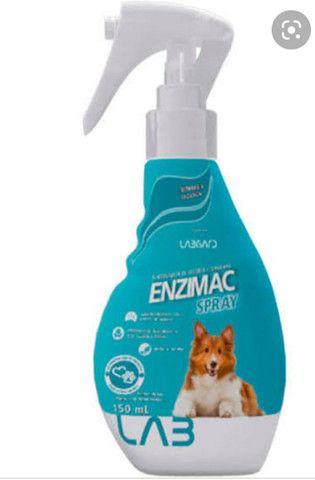 Kit Com 4 EnziMac Eliminador De Odores E Manchas 500 Ml