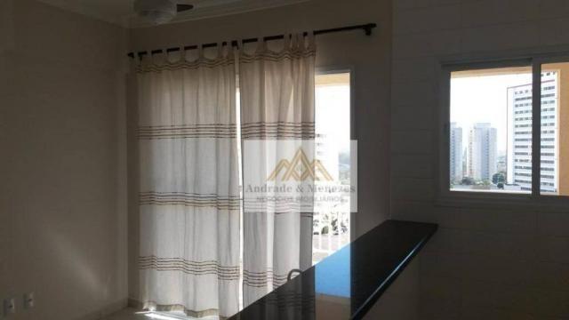 Apartamento com 1 dormitório para alugar, 42 m² por R$ 850/mês - Nova Aliança - Ribeirão P - Foto 3