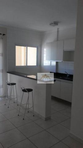 Apartamento com 1 dormitório para alugar, 42 m² por R$ 850/mês - Nova Aliança - Ribeirão P - Foto 4