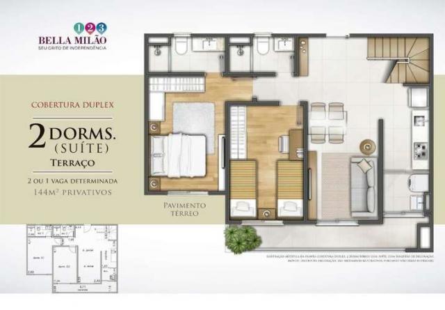 Bella Milão - Apartamento de 1 a 3 quartos em São Roque, SP - Foto 18