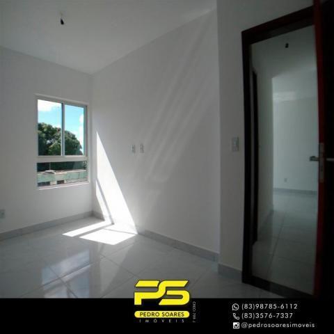 Apartamento com 2 dormitórios à venda, 60 m² por R$ 179.900 - Expedicionários - João Pesso - Foto 4