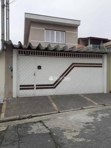 Sobrado com 3 dormitórios à venda, 142 m² por R$ 535.000,00 - Jardim Rosa de Franca - Guar