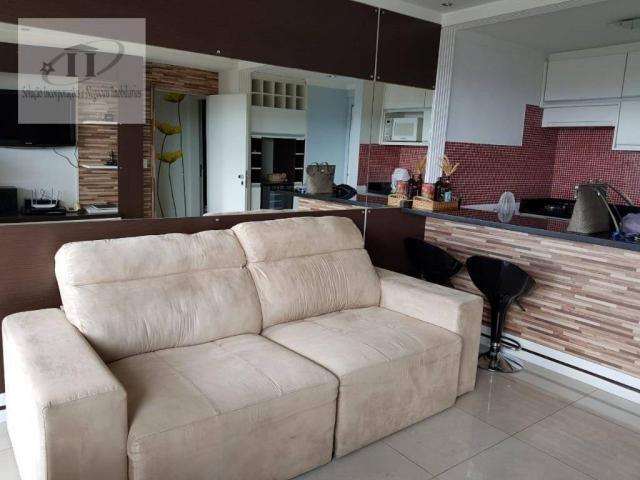 Flat com 1 dormitório à venda, 52 m² por R$ 420.000,00 - Edifício Létoile - Barueri/SP