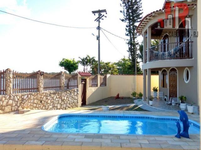 Casa duplex com piscina e Casa de hospede, frente para Lagoa de Araruama Balneário - São P - Foto 18