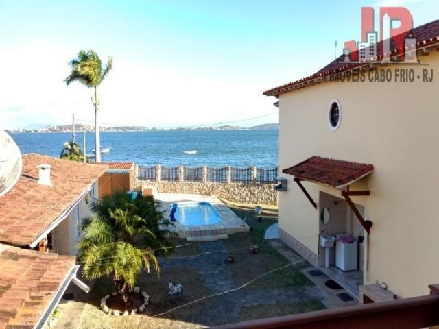 Casa duplex com piscina e Casa de hospede, frente para Lagoa de Araruama Balneário - São P - Foto 15