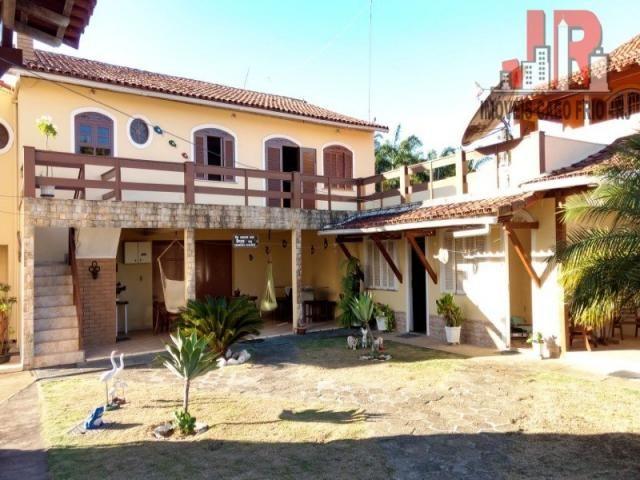 Casa duplex com piscina e Casa de hospede, frente para Lagoa de Araruama Balneário - São P - Foto 2