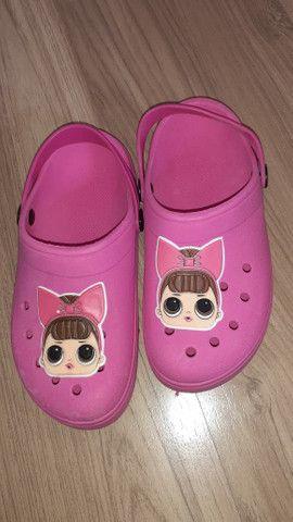 Crocs Infantil Para Menino e Menina (Calçados  Novos) - Foto 5