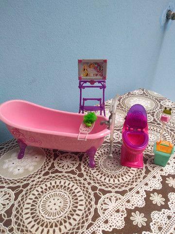 Banheiro Barbie c banheira - Foto 2