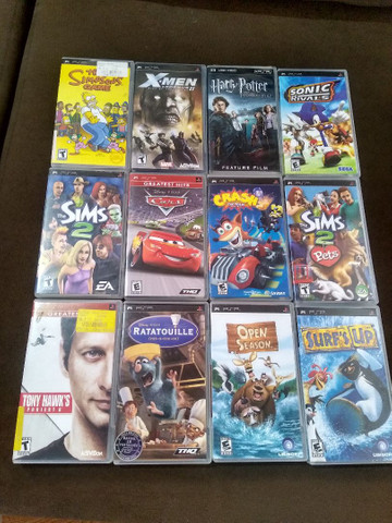 Jogos de PSP originais