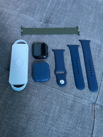 Apple Watch série 6 44? azul