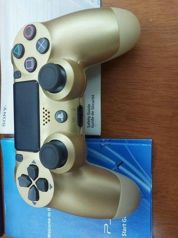 Playstation 4 Console Completo Jogo Brinde  - Foto 2