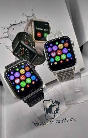 Pronta Entrega Original Smartwatch Relógio Inteligente Iwo12 Pro Série 5 44mm - Foto 4