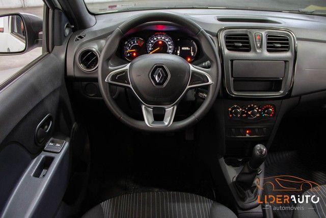 Renault Logan Life 1.0 12V SCe (Flex) - Foto 11