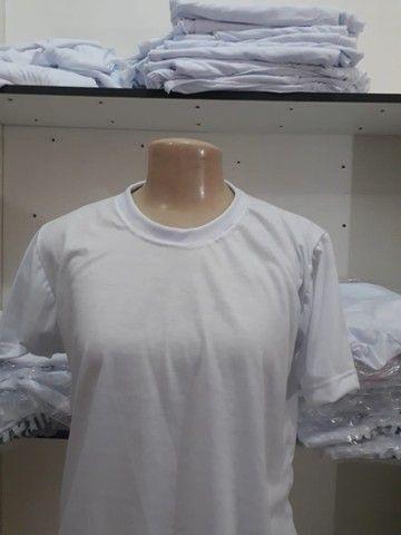 fabricamos camisas de todas as cores para personalização ou  sublimação  - Foto 4